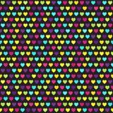 Heart pattern. Seamless vector background Stock Photos