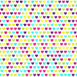 Heart pattern. Seamless vector background Stock Images