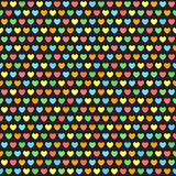Heart pattern. Seamless vector Royalty Free Stock Image