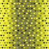 Heart pattern. Seamless vector sparkling background Stock Photos