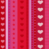 Heart pattern vector Royalty Free Stock Images