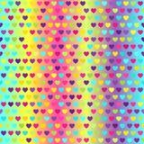 Heart pattern. Vector seamless background Stock Photos
