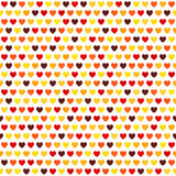 Heart pattern. Vector seamless love background Royalty Free Stock Photos