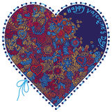 Heart patterned Royalty Free Stock Image