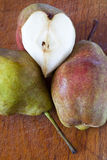 Heart pear Stock Images