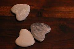 Heart. Of pebble Stock Photography