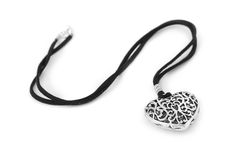 Heart pendant Royalty Free Stock Photo