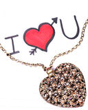 Heart pendant Stock Images