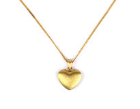 Heart pendant Stock Image