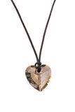 Heart pendant isolated Royalty Free Stock Photography