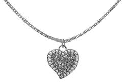 Heart pendant Royalty Free Stock Photos
