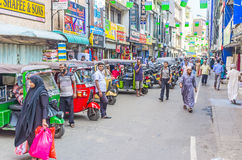 In heart of Pettah Royalty Free Stock Images
