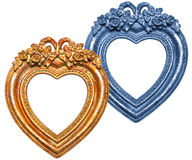 Heart Picture Frame Stock Photography