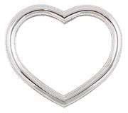 Heart picture frame Stock Image