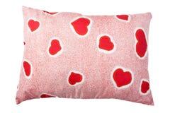 Heart pillow Stock Photography