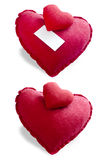 Heart pillow Stock Image