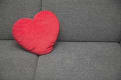 Heart Pillow Royalty Free Stock Photography