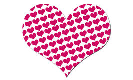 Heart. Pink hearts, in love, lovely, valentine Royalty Free Stock Photo