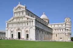 The Heart of Pisa. Campo dei Miracoli - Field of Miracles. Major touristic attraction of Pisa - Tuscany –Italy /Europe Stock Photos
