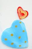 Heart  plastic Stock Image