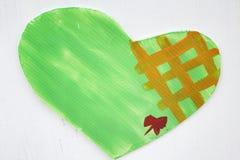 Heart  plastic Royalty Free Stock Photos
