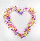Heart plastic star Royalty Free Stock Photos