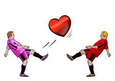 Heart players Stock Photos