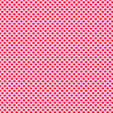 Heart Polka Dot Pattern Royalty Free Stock Photography