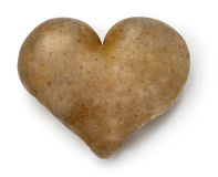 Heart - Potato. Royalty Free Stock Photography