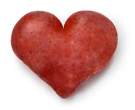 Heart - Potato. Royalty Free Stock Image