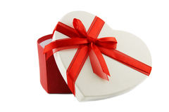 Heart Present box Stock Photography