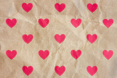 Heart print Stock Photos