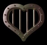 Heart prison Stock Images