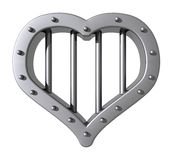 Heart prison Royalty Free Stock Photography