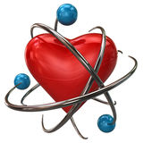 Heart protection icon Stock Photography