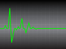 Heart pulse Stock Photos