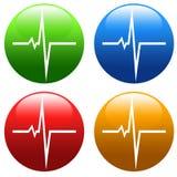 Heart pulse Royalty Free Stock Photo