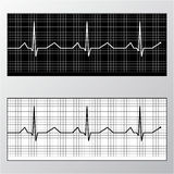 Heart pulse monitor Royalty Free Stock Photos
