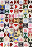 Heart Quilt Stock Photography