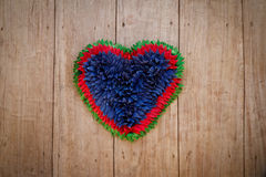Heart rag Royalty Free Stock Images