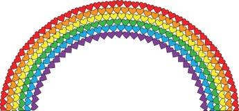 Heart Rainbow Stock Image
