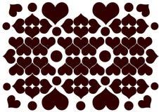 Heart rangoli Royalty Free Stock Photography