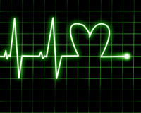 Heart rate Royalty Free Stock Image