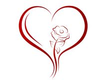 heart red 库存图片