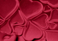 Heart red blood cells Royalty Free Stock Photography