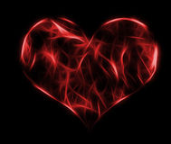 Heart red design Royalty Free Stock Photos