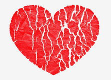 Heart red Stock Images