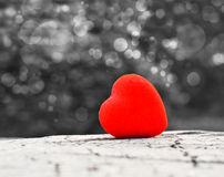 Heart. Red heart and Valentines day royalty free stock image