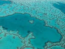 Heart Reef stock image