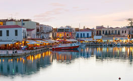 The heart of Rethymno Royalty Free Stock Images